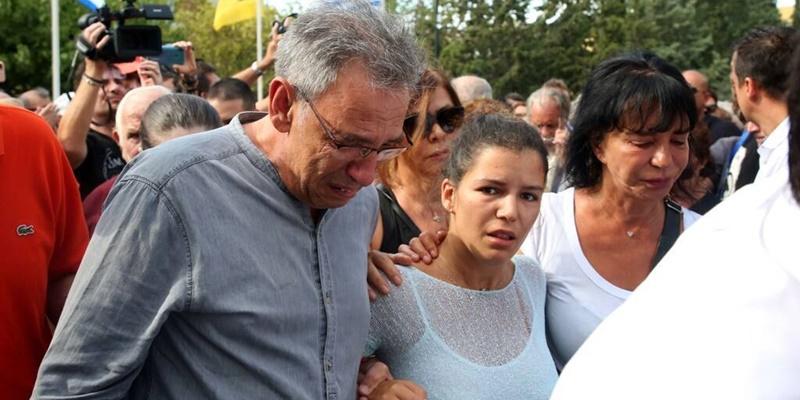 40 ημέρες από το θάνατο του Λαυρέντη Μαχαιρίτσα: Το συγκινητικό post της κόρης του 1