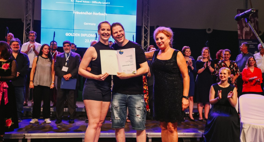 Με το Διαγωνισμό Μεγάλου Βραβείου κορυφώθηκε ο Διαγωνισμός Χορωδιών 40
