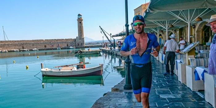 Κολυμπώντας - Ποδηλατώντας και Τρέχοντας ο Κρανιώτης του Ευκλή σε Αρχαία Επίδαυρο, Ρέθυμνο και Ηγουμενίτσα. 1
