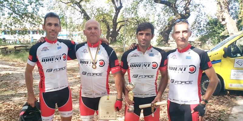 """Με τέσσερις αθλητές ο Ποδηλατικός Όμιλος Καλαμάτας στην """"6η Ανάβαση Ομπλού"""" 2"""