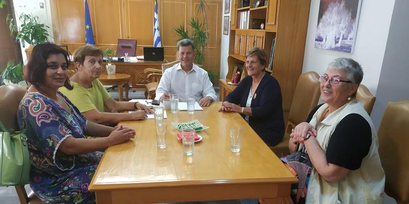 Συνάντηση Αντιπεριφερειάρχη με το ΔΣ του συλλόγου Ξαναρχί-ΖΩ και τη μαθητική διαστημική ομάδα Καλαμάτας 10