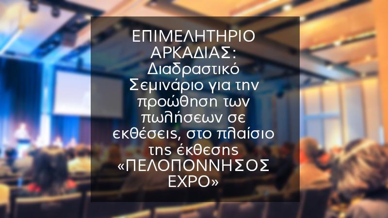 Πελοπόννησος Expo Διαδραστικό Σεμινάριο για την προώθηση των πωλήσεων σε εκθέσεις 2