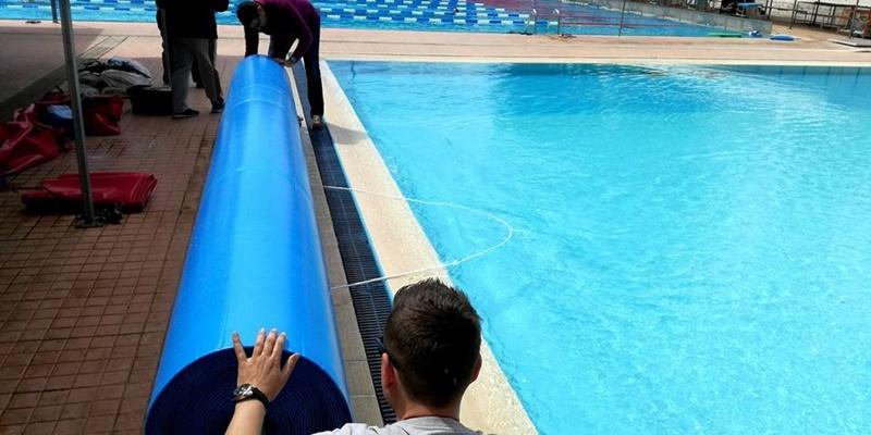 Καλαμάτα Τόπος Ζωής: Περί του ισοθερμικού καλύμματος του κολυμβητηρίου 1