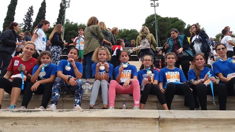 Με 30 αθλητές/τριες ο ΓΣ ΑΚΡΙΤΑΣ 2016 στον Μαραθώνιο της Αθήνας 2