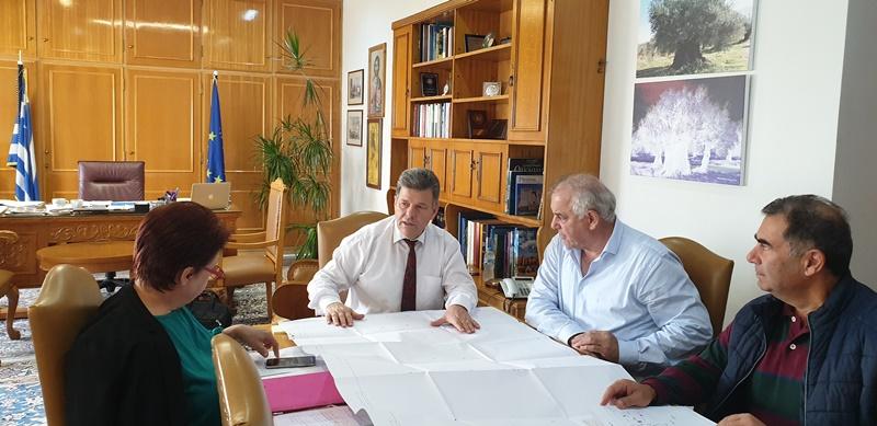Συνάντηση εργασίας Αντιπεριφερειάρχη για την υλοποίηση έργου Τεχνικού Υφάλου Κυπαρισσίας 7