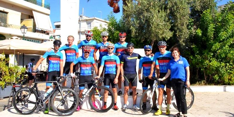 Συνάντηση ποδηλατών του Ευκλή και παράδοση σκυτάλης από τον Βεργετόπουλο στον Σταμάτη 1
