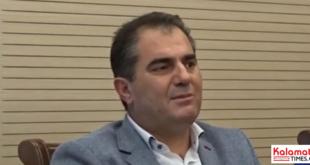 Ο Περικλής Μαντάς στον Δήμαρχο για σοβαρά θέματα που αφορούν το Δήμο Καλαμάτας