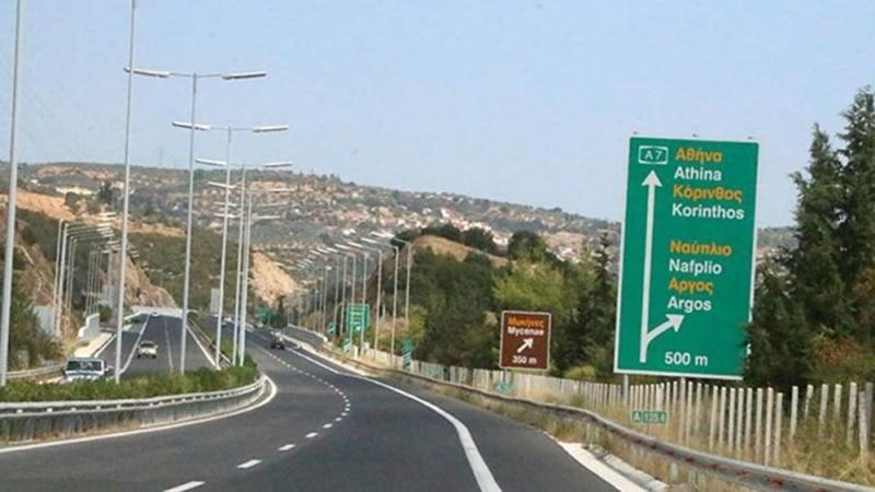 Κυκλοφοριακές ρυθμίσεις στον Αυτοκινητόδρομο Κόρινθος- Τρίπολη- Καλαμάτα 3
