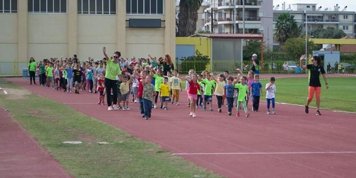 250 παιδιά στην αναπτυξιακή Ημερίδα του Μεσσηνιακού Γ.Σ. 15