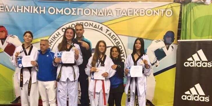 Πρωταθλήτρια Ελλάδος η Ελένη Μαρώση του ΑΓΣ Καλαμάτας 2
