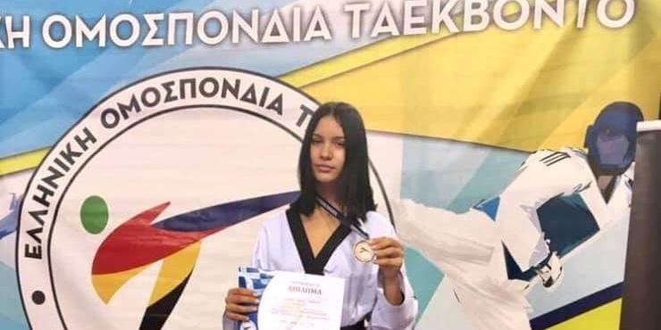 Πρωταθλήτρια Ελλάδος η Ελένη Μαρώση του ΑΓΣ Καλαμάτας 1