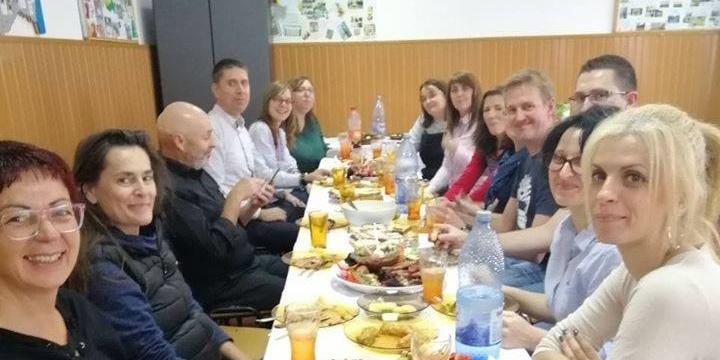 Εκπαιδευτική επίσκεψη μελών του Γυμνασίου Κορώνης στην πόλη Κραιόβα της Ρουμανίας. 1