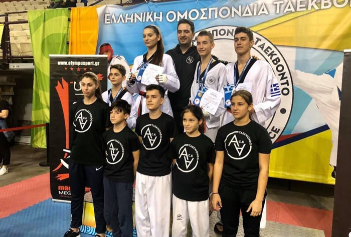 Θρίαμβος του ΑΣ Ταεκβοντό Κυπαρισσίας στο Πανελλήνιο Πρωτάθλημα U21 και στο Πανελλήνιο Κύπελλο 3