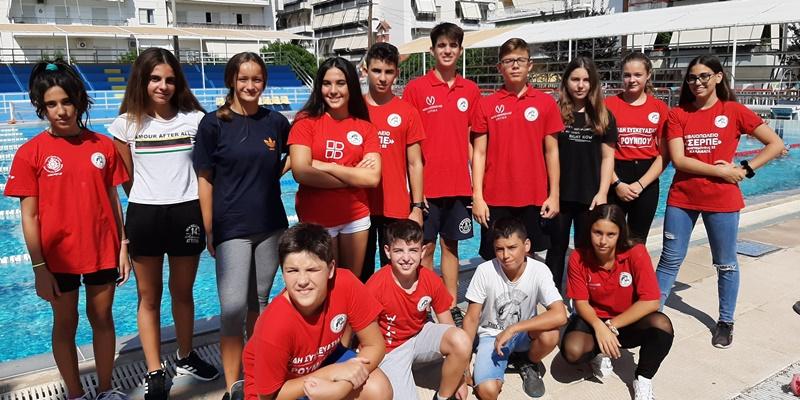 Με 52 δελφίνια η ΠΑΕ Άργης θα συμμετάσχει στον αγώνα του ΚΟΑ Τρίπολης 11