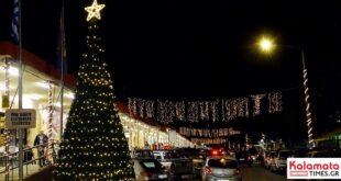DSC00030 310x165 - Άναψε το Χριστουγεννιάτικο δέντρο στην Κεντρική Αγορά Καλαμάτας