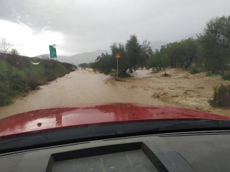 Αντιμετώπιση πλημμυρικών φαινομένων σε Δήμους Καλαμάτας, Οιχαλίας και Τριφυλίας 1
