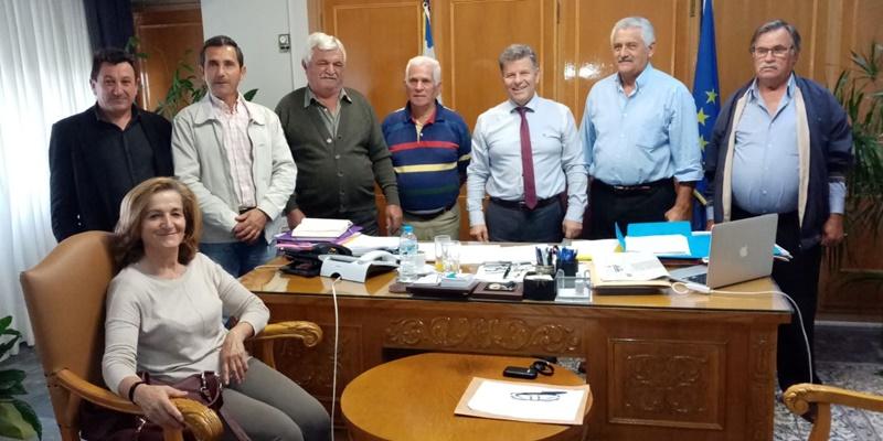 Προβλήματα των κοινοτήτων του Δήμου Τριφυλίας έθεσαν οι  πρόεδροι τους, στον Αντιπεριφερειάρχη 25