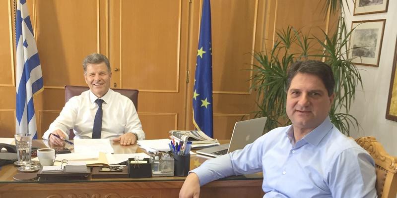 Ο Αθανασόπουλος στον Αντιπεριφερειάρχη για θέματα του Δήμου Μεσσήνης 1