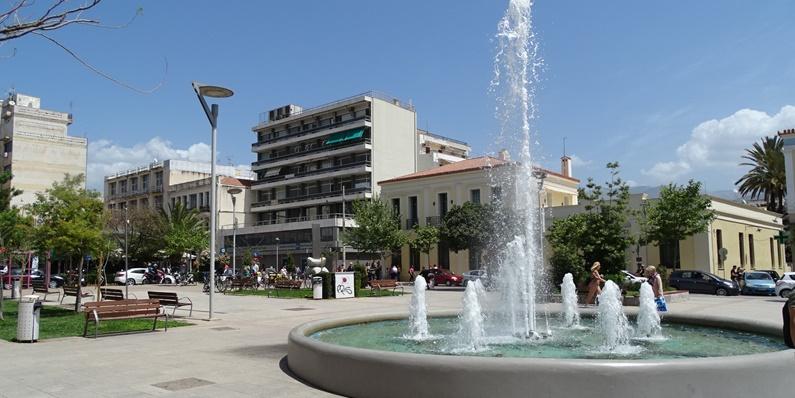 Κεντρική πλατεία, η καρδιά της Καλαμάτας 1