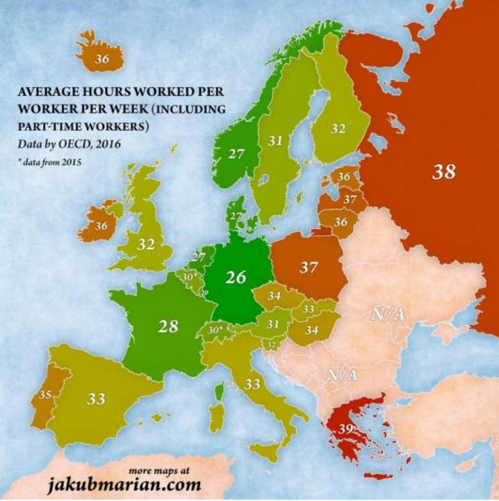 Οι Έλληνες εργάζονται περισσότερο από κάθε πολίτη Ευρωπαϊκής χώρας 3