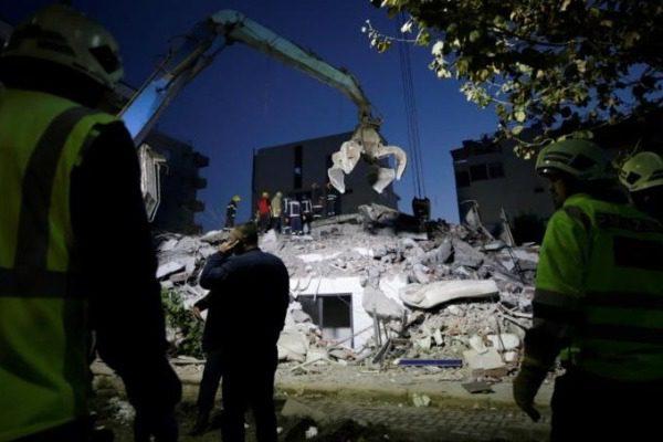 Σεισμός στην Αλβανία: Αυξάνεται ο αριθμός των νεκρών 7