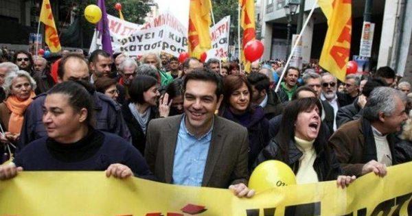 Επέτειος Πολυτεχνείου: Ο Αλέξης Τσίπρας στο μπλοκ του ΣΥΡΙΖΑ για την πορεία 10