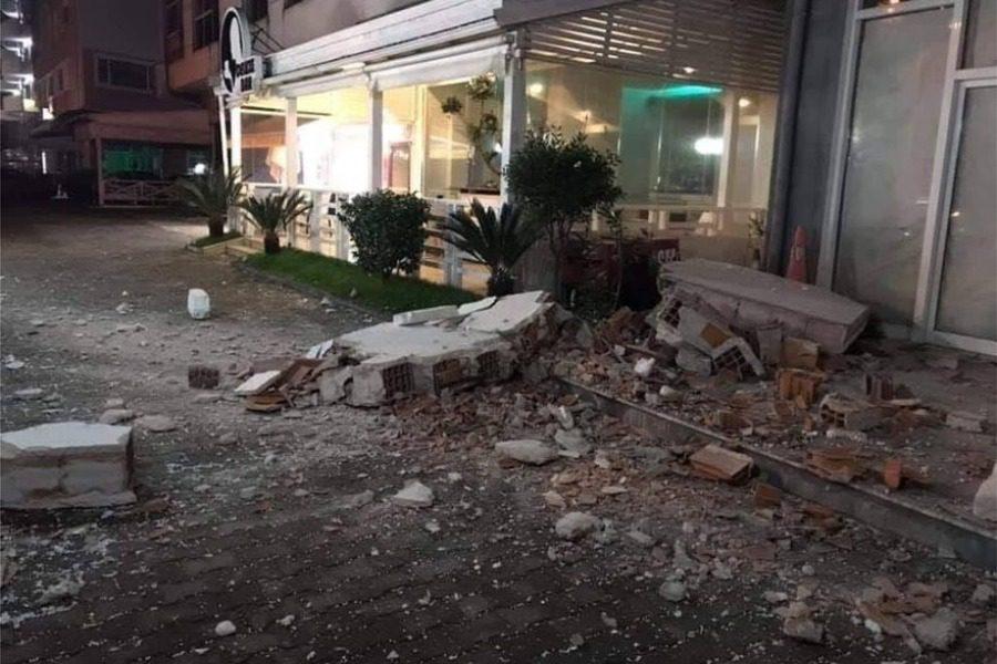 Ισχυρός σεισμός 6,4 Ρίχτερ στην Αλβανία 1