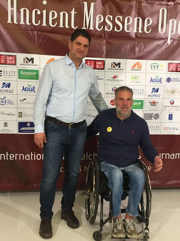 Ολοκληρώθηκε το 4ο διεθνές τουρνουά τένις με αμαξίδιο «Ancient Messene Open» 3