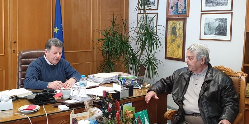 Στον Αντιπεριφερειάρχη, ο Δήμαρχος Δυτικής Μάνης, για τα έργα που πρόκειται να υλοποιηθούν 4