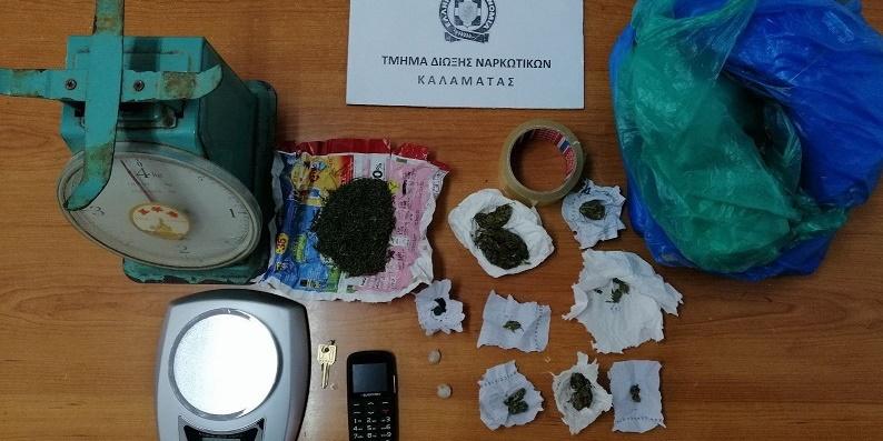 Συνελήφθη ένα άτομο πάνω από 37 κιλά κάνναβης στη Καλαμάτα 3