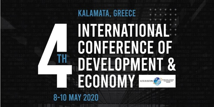 Στην Καλαμάτα το 2020 το 4o Διεθνές Συνέδριο Ανάπτυξης και Οικονομίας 5