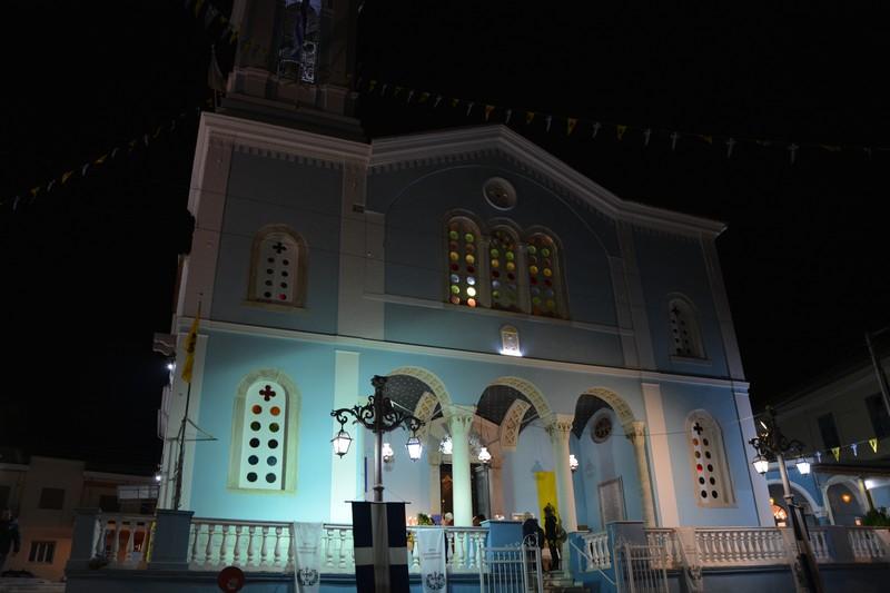 Αγρυπνία για την εορτή της Αποδόσεως Του Πάσχα στον ναό του Αγίου Νικολάου του Φλαρίου 2