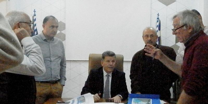 Συνάντηση του Αντιπεριφερειάρχη με τον μελετητή της TEMES Α.Ε. 1
