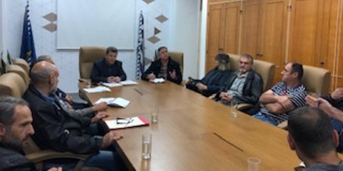 Συνάντηση και ενημέρωση Αντιπεριφερειάρχη με τη συντονιστική επιτροπή των χωριών του Ταϋγέτου 1