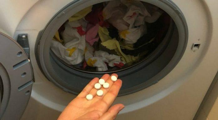 Απίστευτο! Δοκιμάστε να προσθέσετε ασπιρίνη στο πλυντήριο σας 14