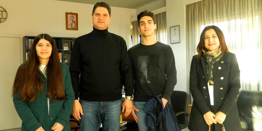 Δύο μαθητές του Λυκείου Πεταλιδίου πετούν για Στρασβούργο μετά τη διάκριση στο πρόγραμμα Euroscola 54