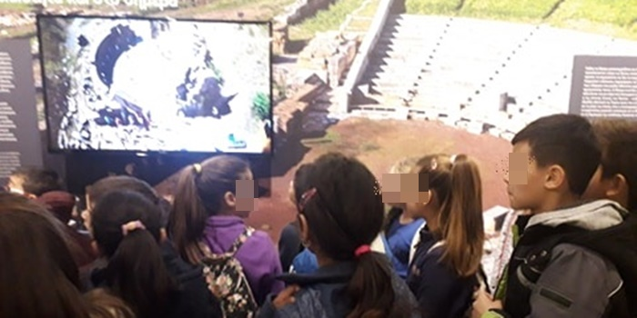 Μαθητές του 1ου Δημοτικού Σχολείου Μεσσήνης διδάχτηκαν το μάθημα «Η ελιά η ευλογημένη» 33