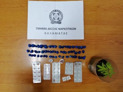 Συνελήφθησαν πέντε άτομα με ναρκωτικά και όπλα στη Μεσσηνία 2