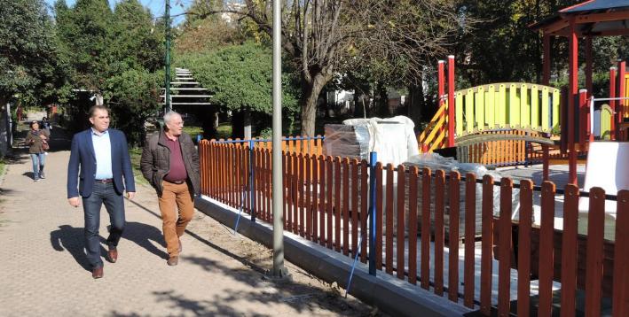 Αναβάθμιση σε παιδικές χαρές του πάρκου του ΟΣΕ με νέα όργανα και εξοπλισμό 9