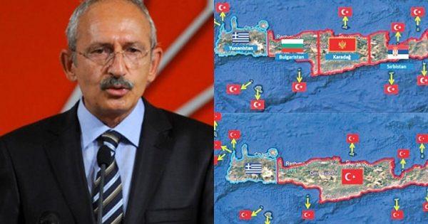 Σε παράκρουση ο Κιλιτσντάρογλου – Πιέζει τον Ερντογάν να διεκδικήσει και την Κρήτη 10