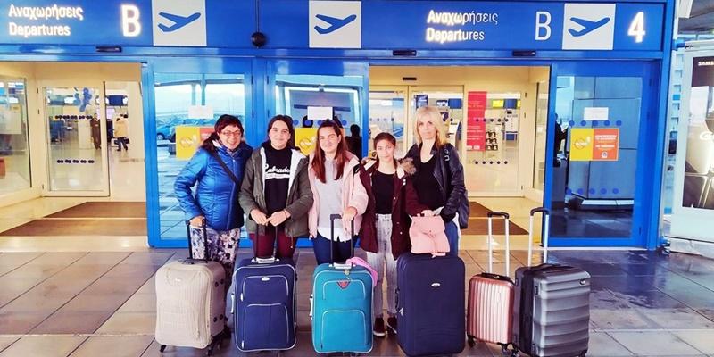 Erasmus+: Σημαντική εμπειρία για μαθήτριες του Γυμνασίου Κορώνης η εκπαιδευτική επίσκεψη στην Ισπανία 1