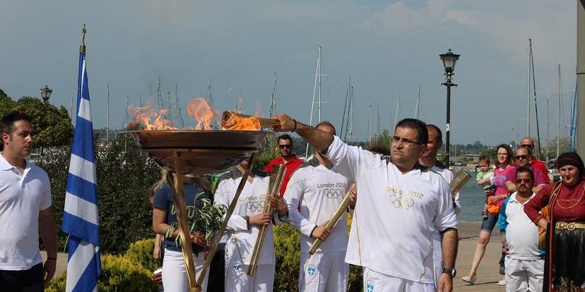 Η Ολυμπιακή Φλόγα στον Δήμο Τριφυλίας 3