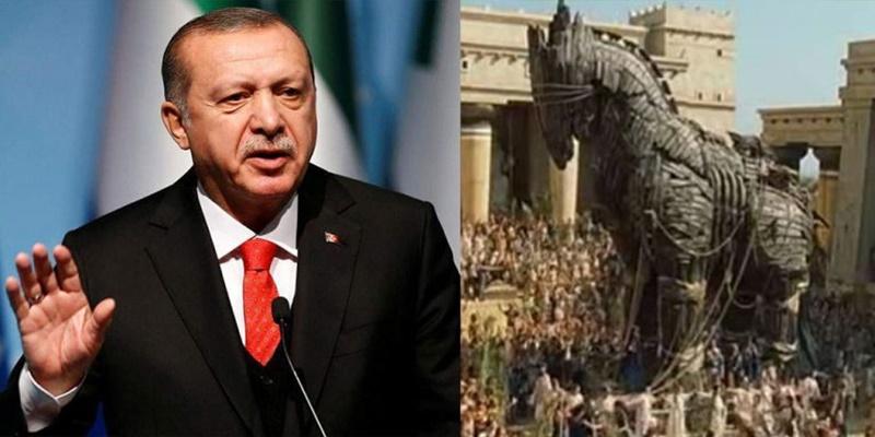 Ερντογάν: «Η Τροία είναι μέρος της ιστορίας μας. Η Ωραία Ελένη μιλούσε τουρκικά» 1