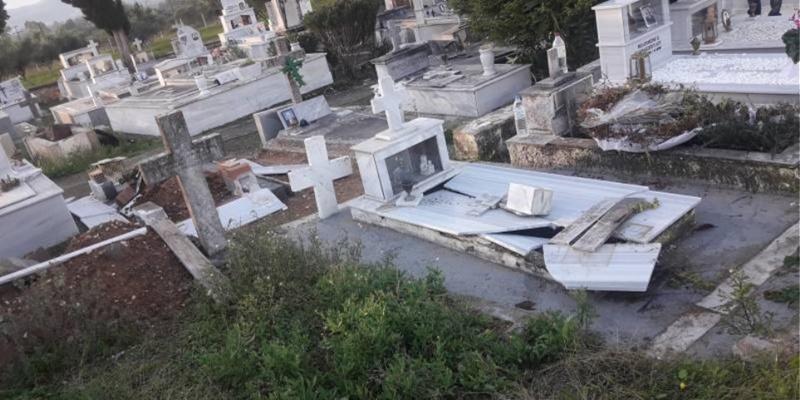 Ένας 21χρονος ένας 15χρονος και δύο 12χρονοι οι δράστες που ξέθαψε πτώμα σε νεκροταφείο 1