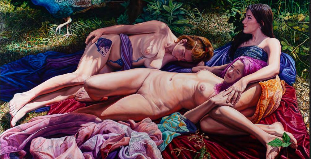 """Έκθεση Ζωγραφικής του Δημήτρη Τζαμουράνη """"New Paintings"""" στη Θεσσαλονίκη 1"""