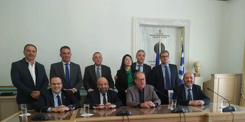 Υπογραφή της επιχειρησιακής συμφωνίας Περιφέρειας Πελοποννήσου και ΕΦΕΠΑΕ 5