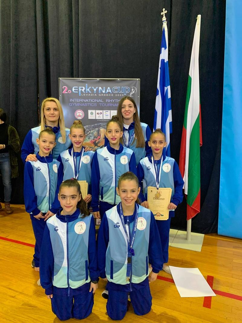 Δυο μετάλλια και θέσεις στην οκτάδα για τον Α.Σ. Καλαμάτας - Η Νίκη στο 2ο Erkyna Cup 2