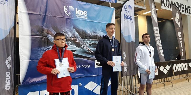 Το ασημένιο μετάλλιο στο χειμερινό πρωτάθλημα στέλνει τον Νίκο Μπάκα στο OPEN 3