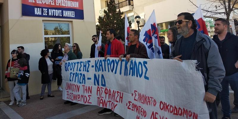 Μαχητική η απεργιακή συγκέντρωση στην Καλαμάτα – Γιατί αποχώρησε το ΝΤ ΑΔΕΔΥ Μεσσηνίας 8