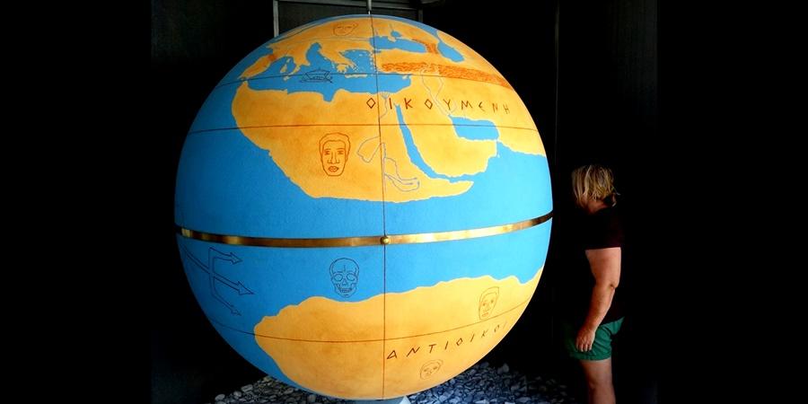 Η Υδρόγειος Σφαίρα του Κράτη παρουσιάζεται για πρώτη φορά παγκοσμίως σε φυσικό μέγεθος! 1